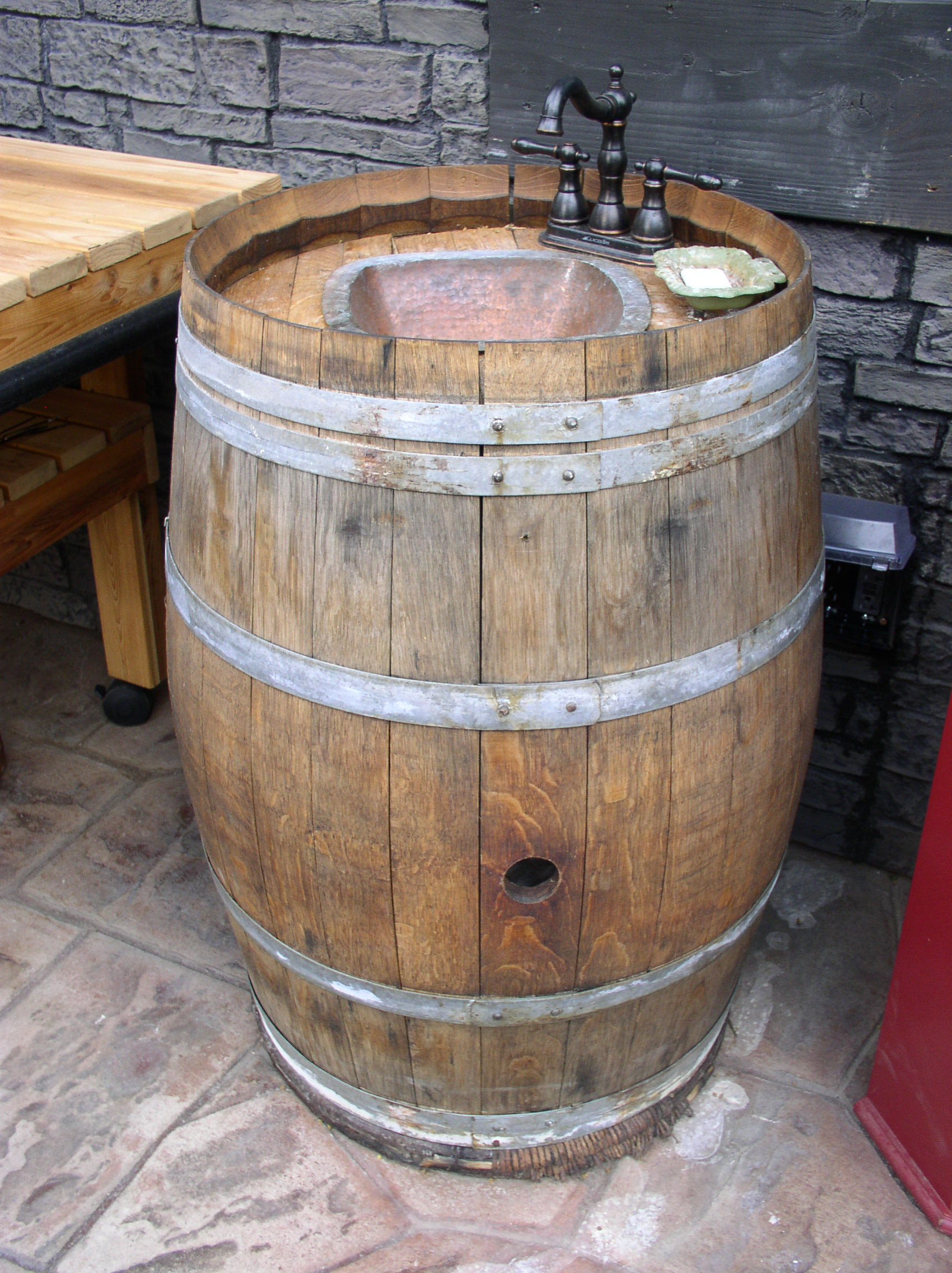 Wine Barrel Furniture Dunning amp Designs