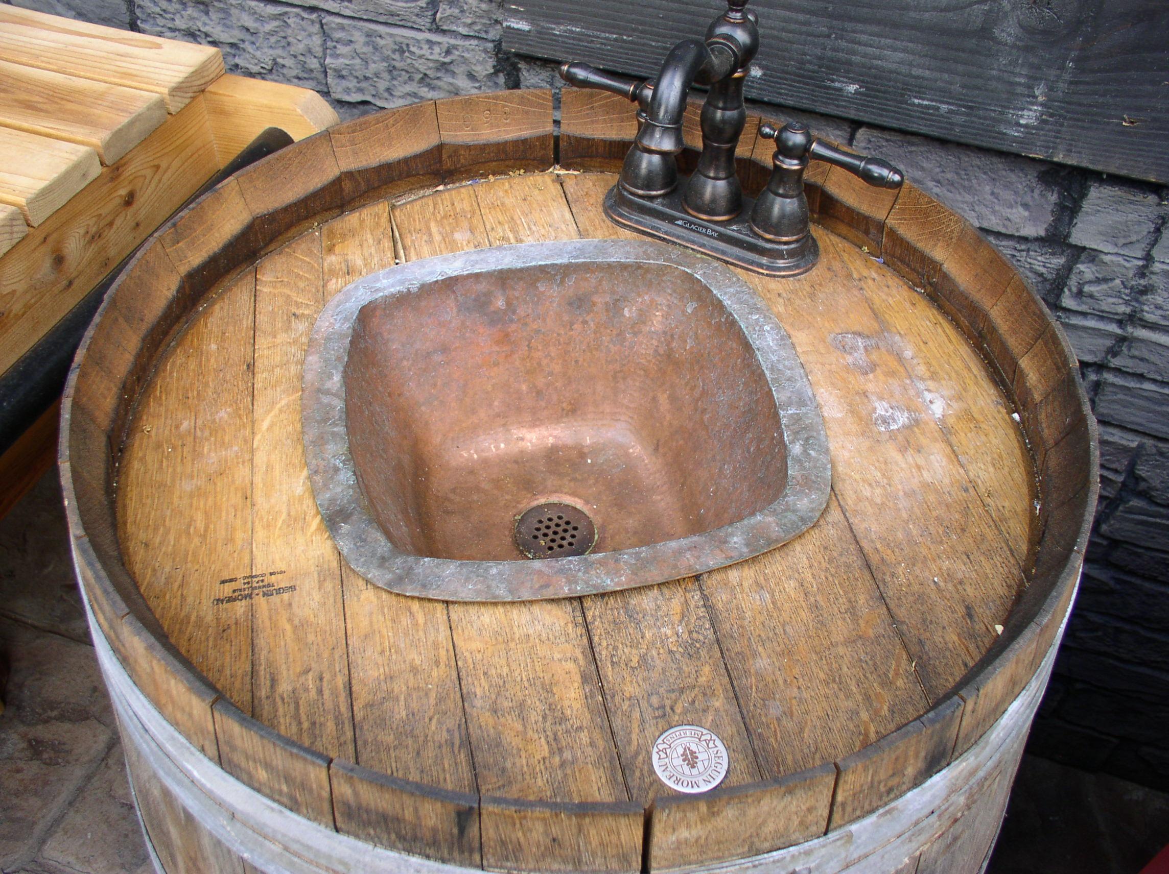 Woodwork Wine Barrel Patio Furniture PDF Plans