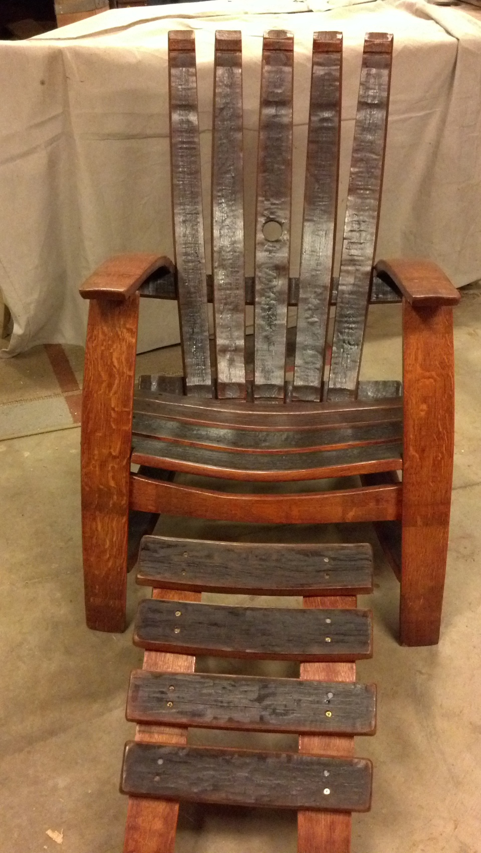 custom project adirondack chair plans with skis